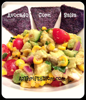 Recipe: Avocado Corn Salsa!