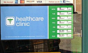 #shop Walgreens Healthcare Clinic Hours