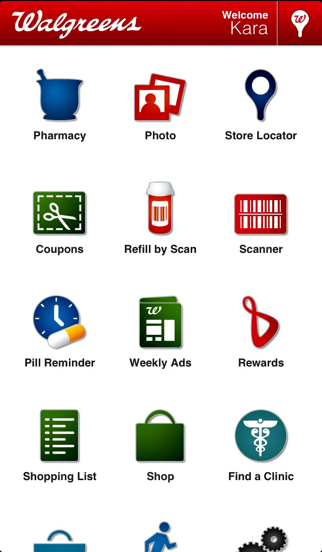 Here to help. The Walgreens App simplifies prescriptions, coupons, photos and more. Learn how it works right here.