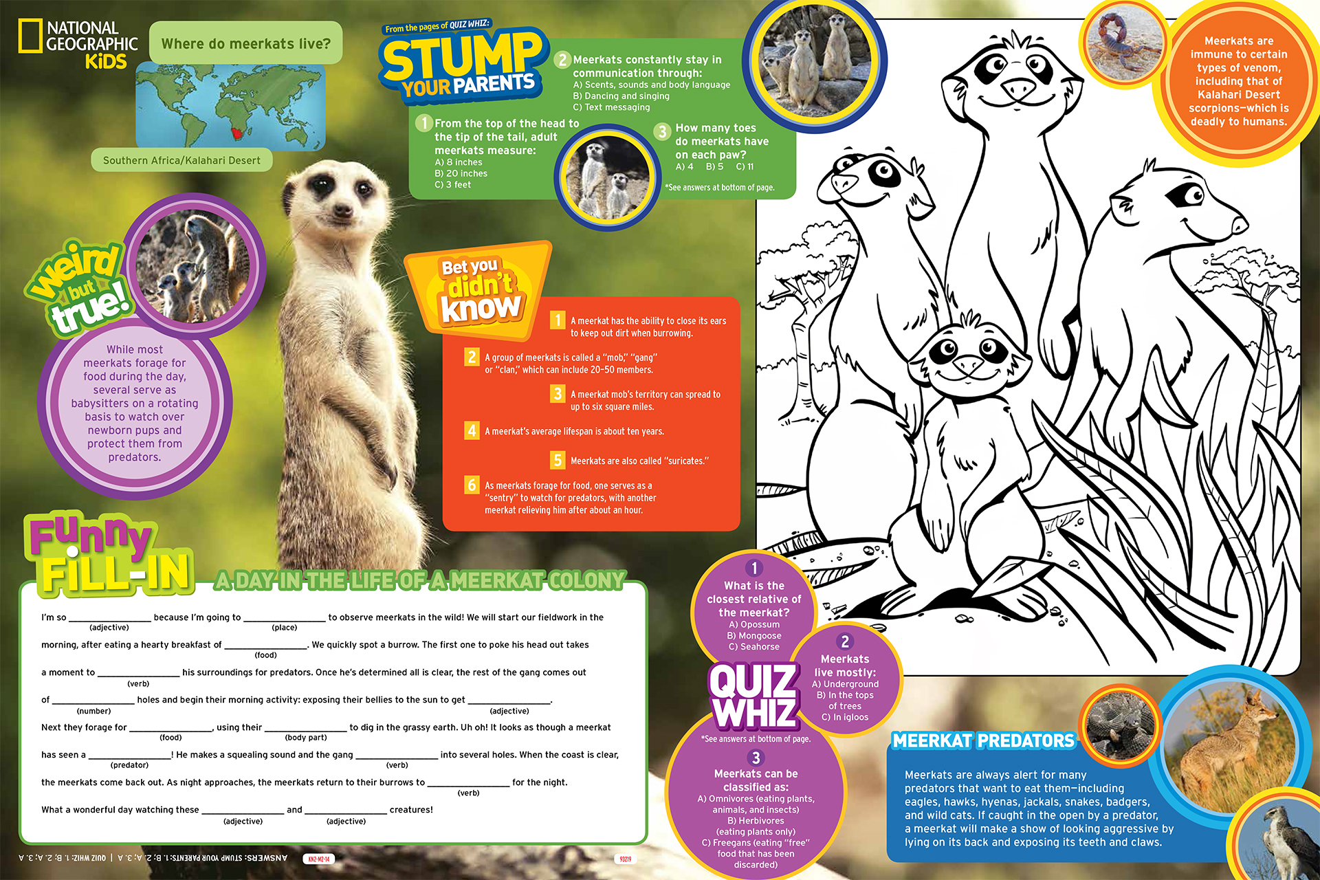 M2 Kids Adventure Menu-Inside