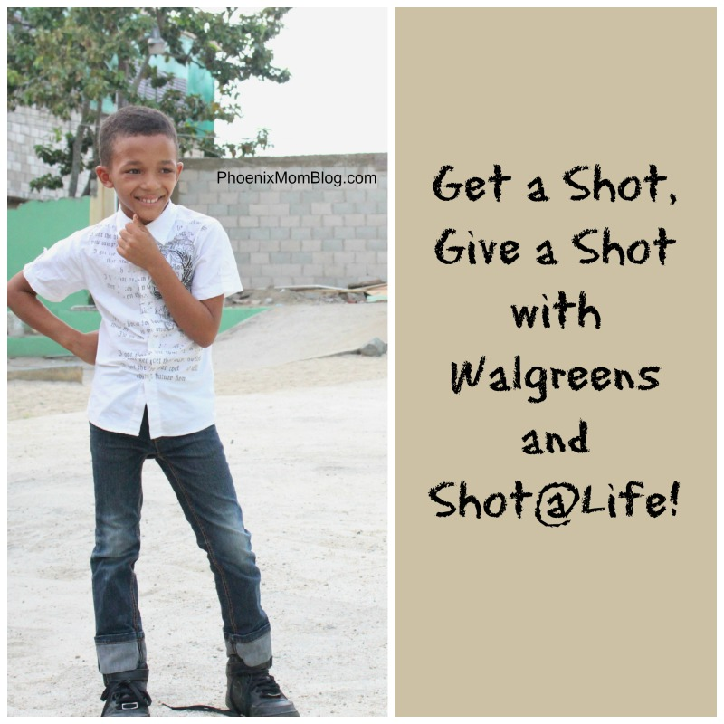 Walgreens: Get a Shot #GiveaShot #shop #cbias