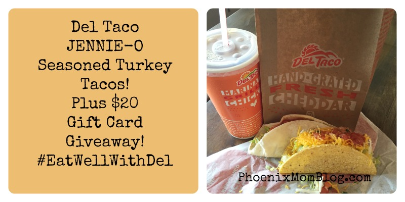 New Turkey Tacos From Del Taco + A Giveaway #EatWellWithDel