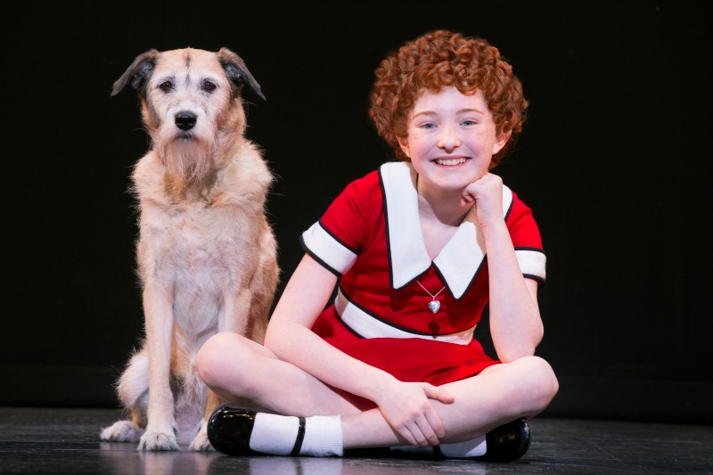 Photo Credit: ©JOAN MARCUS Heidi Gray as Annie and Macy    as Sandy