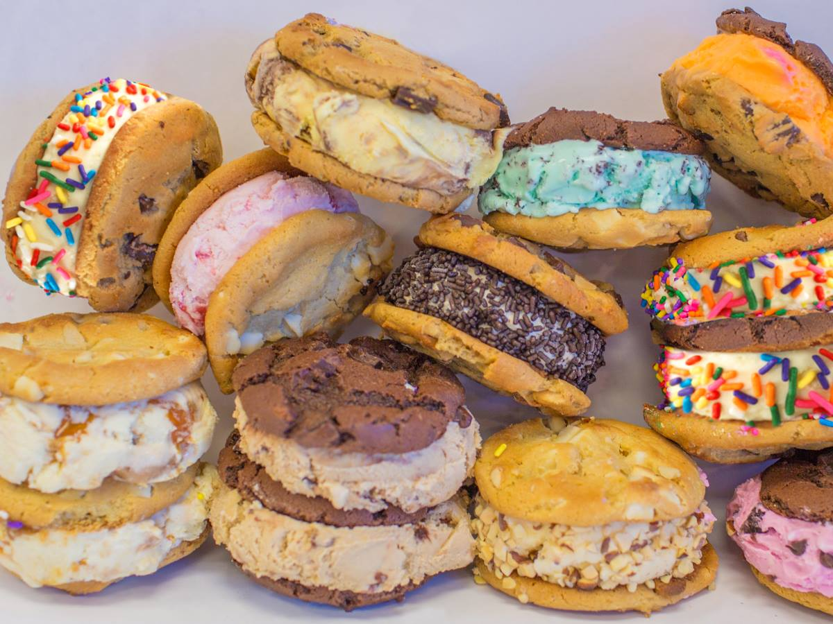 Warm Cookie Ice Cream Sandwiches From Baskin-Robbins!