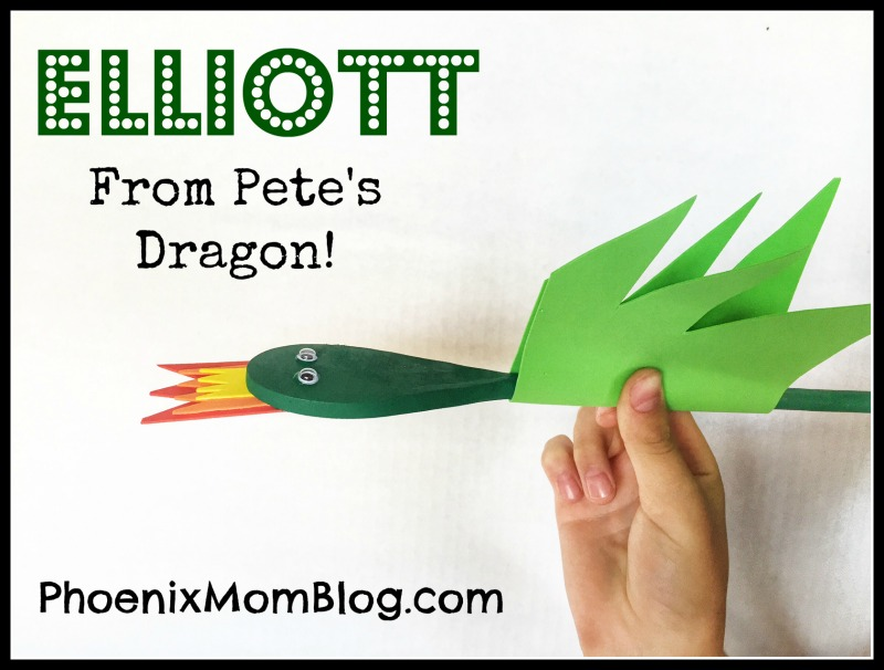 Elliott Craft From Pete's Dragon!