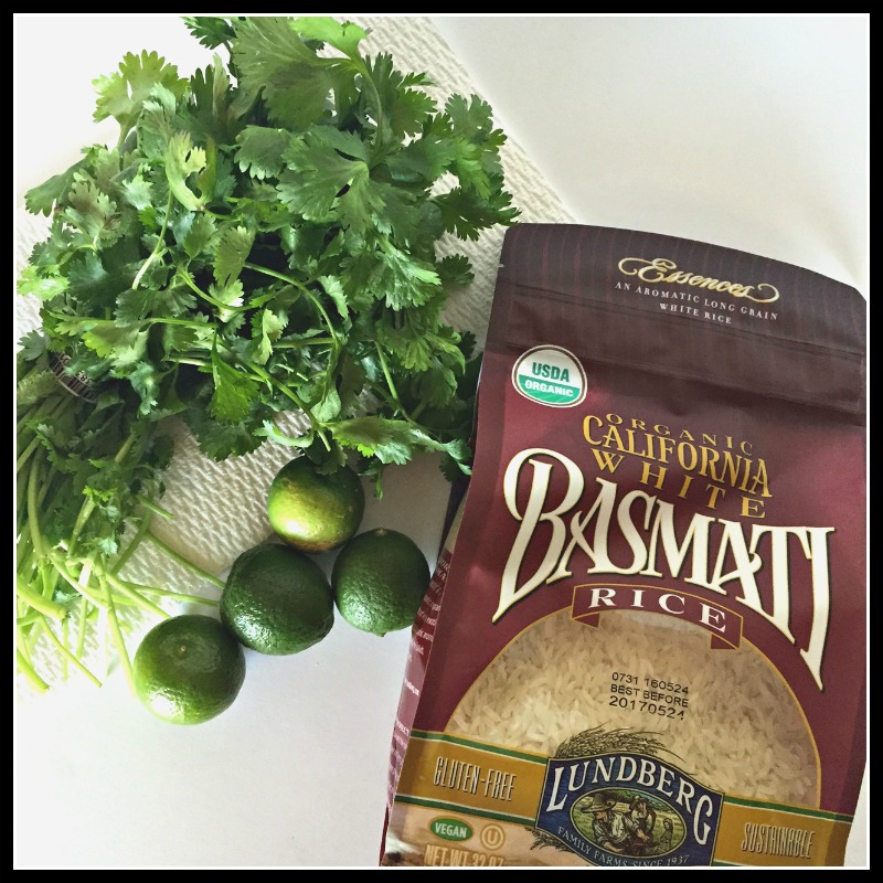 Cilantro Lime Rice Ingredients