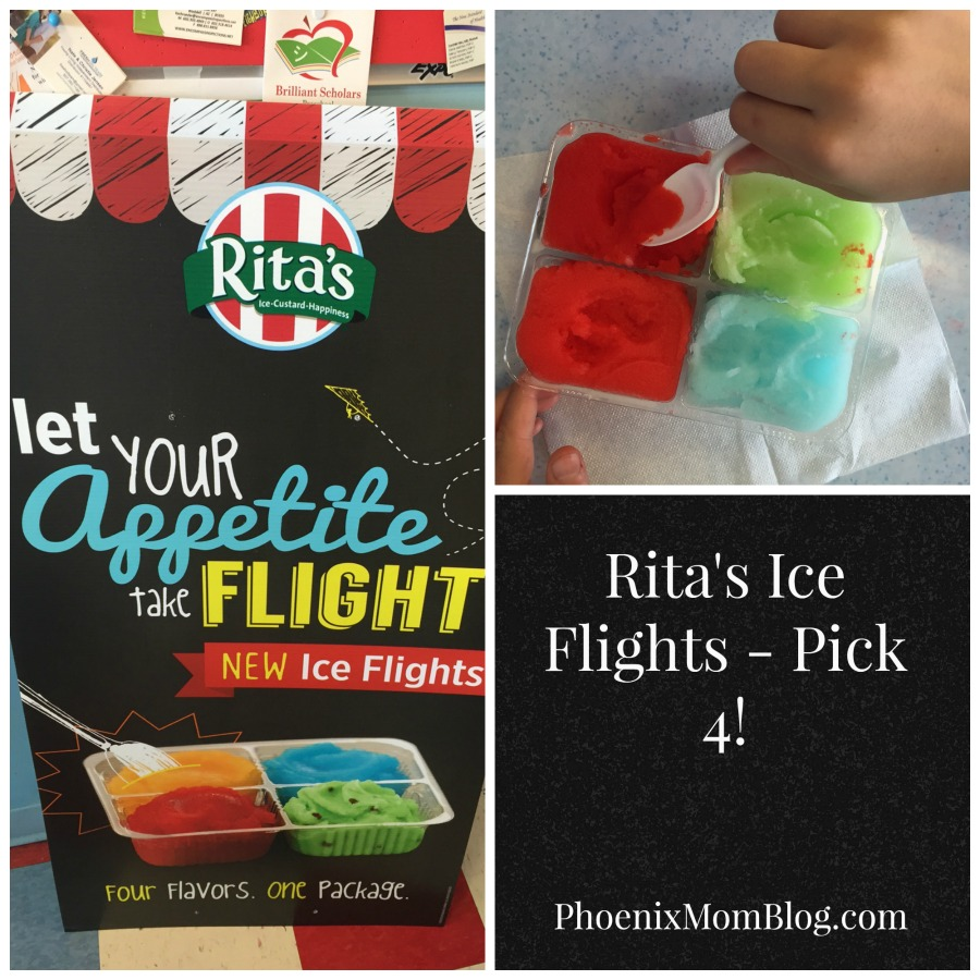 Pick 4 with Rita's #IceFlights!
