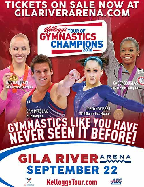 Kellogg's Tour of Gymnastics Champions at Gila River Arena