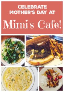 Celebrate Mother's Day at Mimi's Cafe!