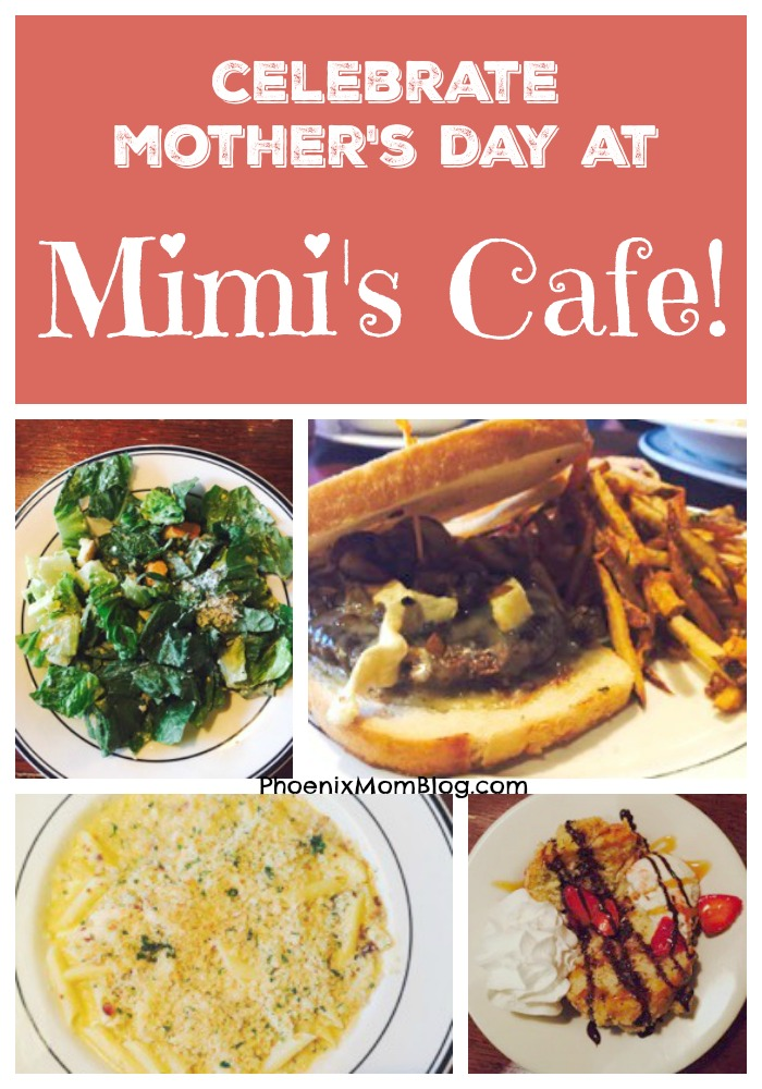 Celebrate Mother's Day at Mimi's Cafe