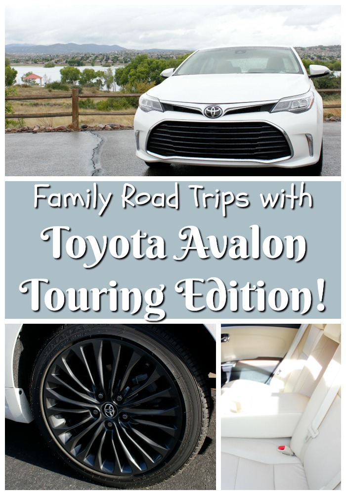 Family Road Trips With Toyota Avalon Touring Edition
