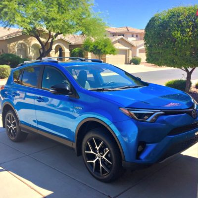 Toyota Rav4 Hybrid Roadtrip Fun!