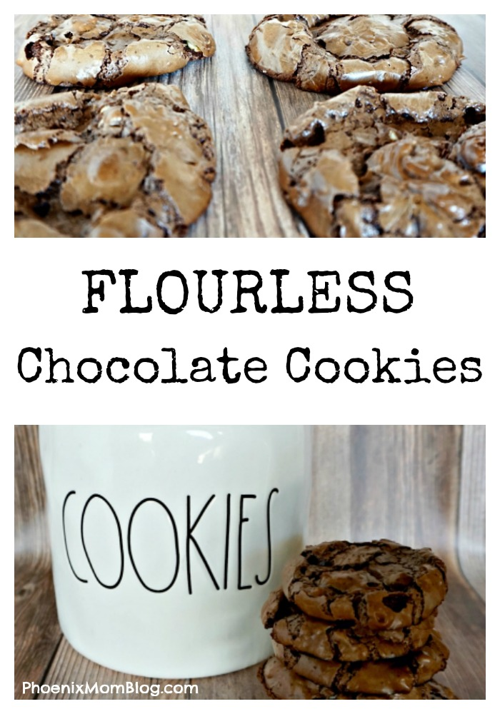 Flourless Chocolate Cookies - Phoenix Mom Blog