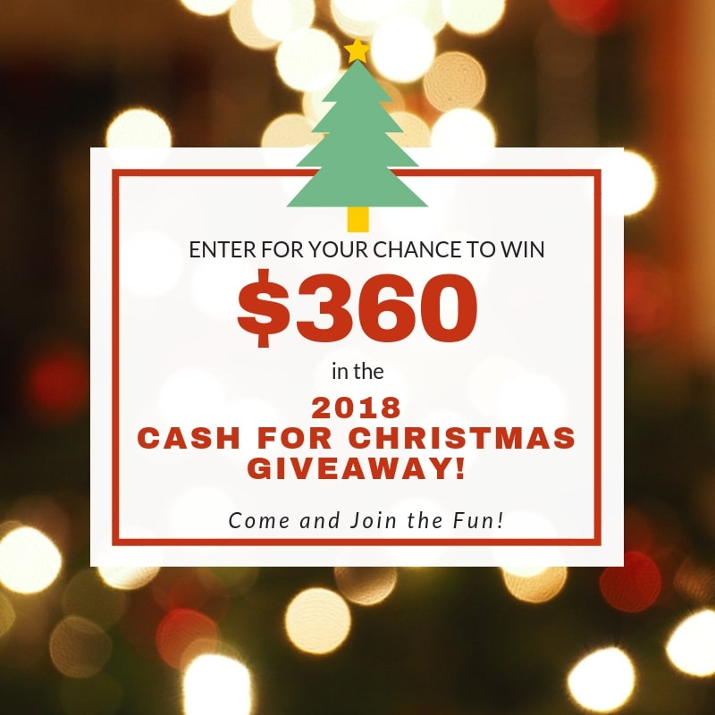 Cash for Christmas 2018 - Phoenix Mom Blog