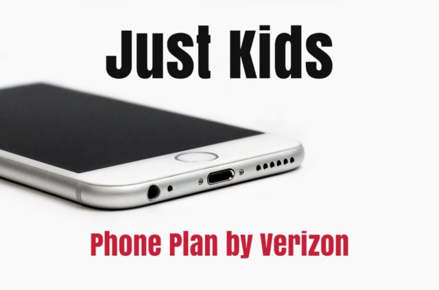 Verizon Just Kids Plan - Phoenix Mom Blog